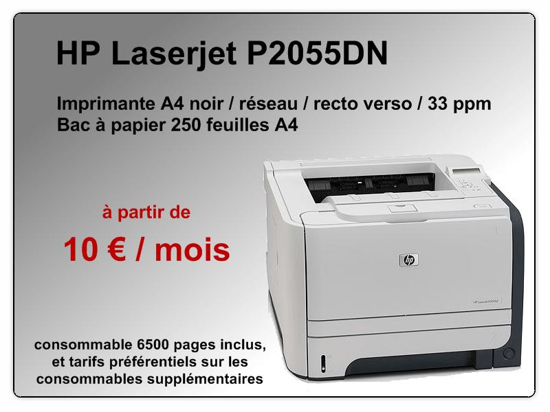 Vignette imprimante HP P2055DN
